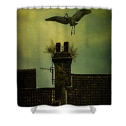 Shower Curtain featuring the photograph A Room For The Night by Chris Lord