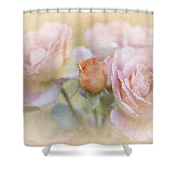 A Rose By Any Other Name Shower Curtain by Theresa Tahara