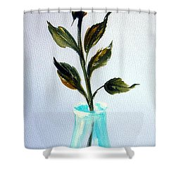 A Rose For My Lovely Gordana Shower Curtain