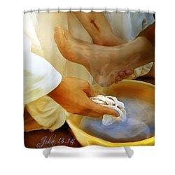 A Servants Heart Shower Curtain