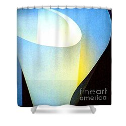 A Shade Of Illumination Shower Curtain by Michael Hoard