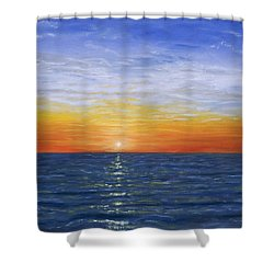 A Silent Moment Shower Curtain