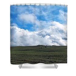 A Simple Majesty Shower Curtain by Glenn McCarthy Art and Photography