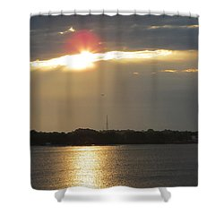 A Slot For The Sun Shower Curtain