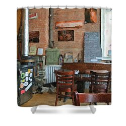 A Small Town Brewing Company Shower Curtain by Image Takers Photography LLC - Carol Haddon