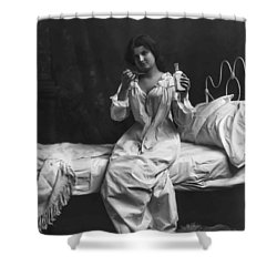 A Spoonful Of Laudanum Shower Curtain by Daniel Hagerman