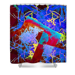 A Star Is Born Shower Curtain by Thomas Bryant