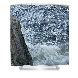 A Stillness In The Storm  Shower Curtain by Brian Boyle