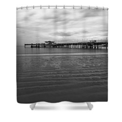 A Storm Looms Shower Curtain by Heidi Smith