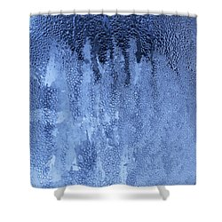 Shower Curtain featuring the photograph A Sudden Thaw - Art Print by Jane Eleanor Nicholas