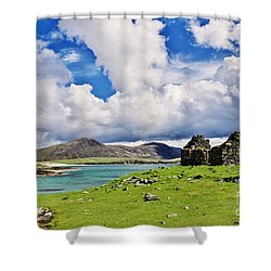 A Sunny Day In The Hebrides Shower Curtain