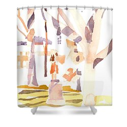 A Sunny Winters Day Shower Curtain by Kip DeVore