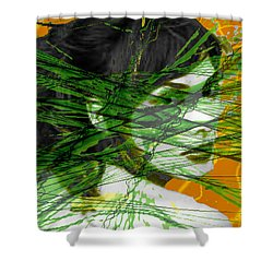 A Tangled Web Shower Curtain by Seth Weaver