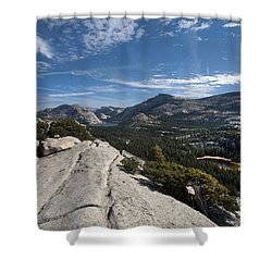 A Tenaya View Shower Curtain