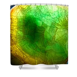 A Thin Slice Of Rock Shower Curtain