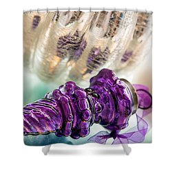 A Touch Of Christmas Shower Curtain