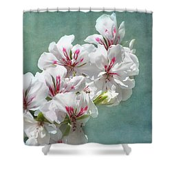 A Touch Of Class Shower Curtain by Kim Hojnacki