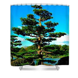 A Tree... Shower Curtain