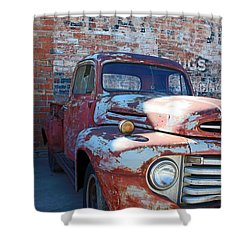 A Truck In Goodland Shower Curtain