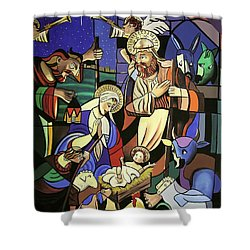 A True Story Shower Curtain by Anthony Falbo