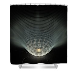 A Vibrant Candle Shower Curtain by Peter R Nicholls