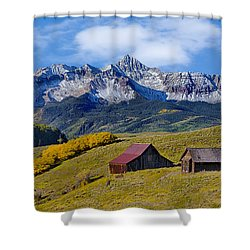 A View From Last Dollar Road Shower Curtain
