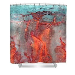 A Vision Of Hell Shower Curtain
