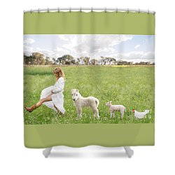 A Walk In The Country Shower Curtain