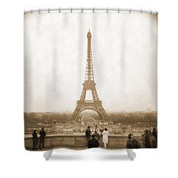 A Walk Through Paris 5 Shower Curtain