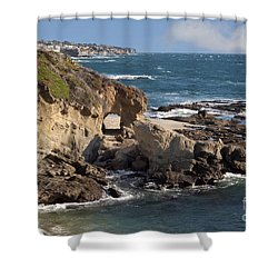 A Walk Through The Rocks Shower Curtain