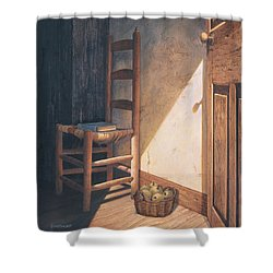 A Warm Welcome Shower Curtain