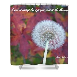 A Wish For You Shower Curtain