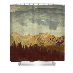 A World Of It's Own Shower Curtain by Brett Pfister