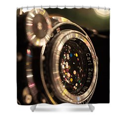 A Zeiss Christmas Shower Curtain