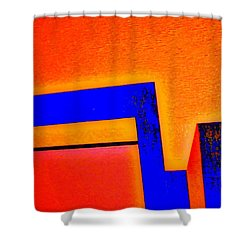 Manhattan Nocturne 66 Shower Curtain