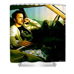 Aaron Paul Shower Curtain