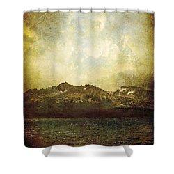 Ab Antiquo I Shower Curtain by Brett Pfister