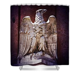 Ab Eagle St. Louis Brewery Shower Curtain