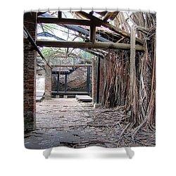 Abandon Warehouse  Shower Curtain