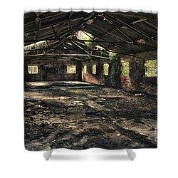 Abandoned Shower Curtain by Amanda Elwell