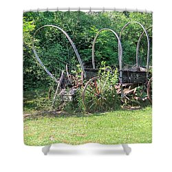 Shower Curtain featuring the photograph Abandoned by Gordon Elwell