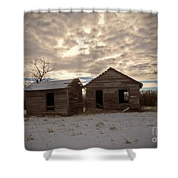 Abandoned History Shower Curtain by Desiree Paquette