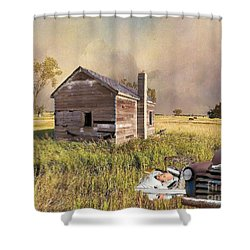 Shower Curtain featuring the photograph Abandoned by Liane Wright