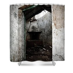 Abandoned Little House 1 Shower Curtain by RicardMN Photography