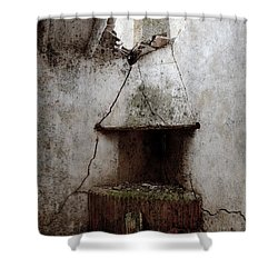 Abandoned Little House 2 Shower Curtain by RicardMN Photography