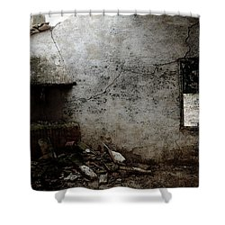 Abandoned Little House 3 Shower Curtain by RicardMN Photography