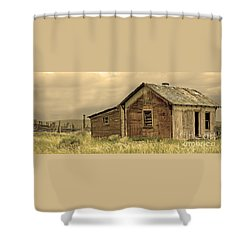 Shower Curtain featuring the photograph Abandoned by Nick  Boren