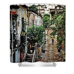 Abandoned Place In Sao Paulo Shower Curtain