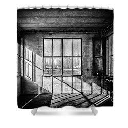 Abandoned Sugar Mill Shower Curtain