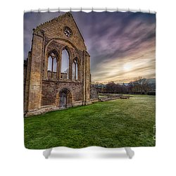 Abbey Ruins Shower Curtain by Adrian Evans